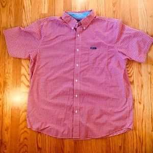 Big and Tall Short Sleeve Button Down Shirt